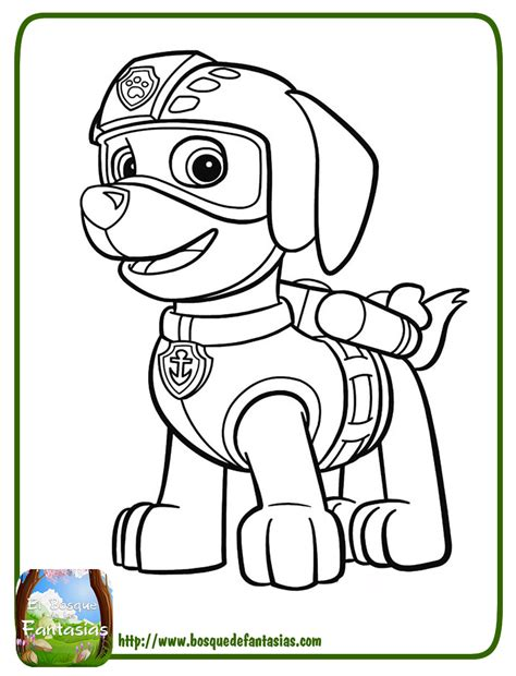 Dibujos Para Pintar Patrulla Canina Descargarimagenes Com