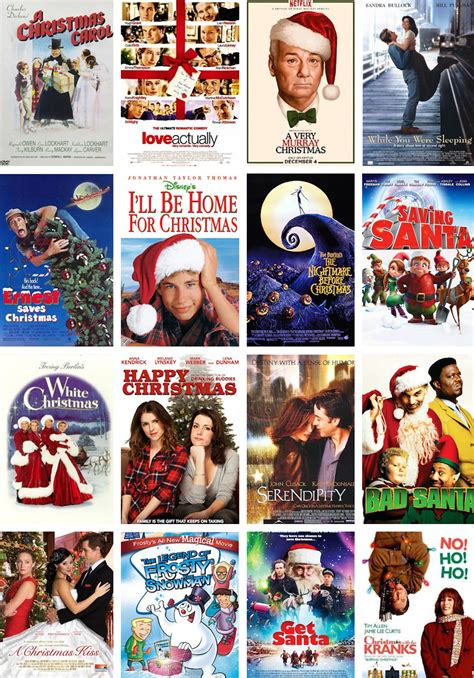 best 25 list of christmas movies ideas on pinterest ...