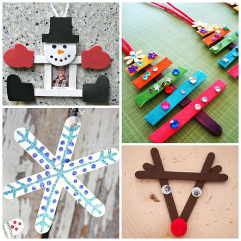Christmas Popsicle Stick Crafts for Kids to Make - Crafty ...