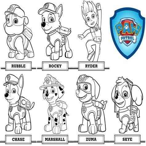 Dibujos Para Imprimir Patrulla Canina Descargarimagenescom