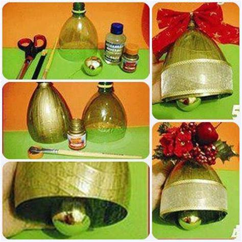 Creative Ideas - DIY Christmas Bell Ornament from Plastic ...