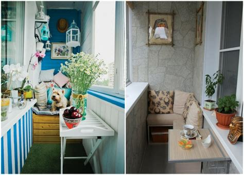Decorar balcones pequeños con estilo - 40 ideas en fotos