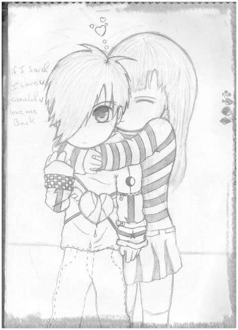 Dibujos De Amor A Lapiz Descargarimagenescom