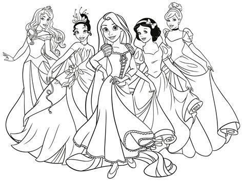 Dibujos Para Pintar Online Gratis De Princesas Colorearonline