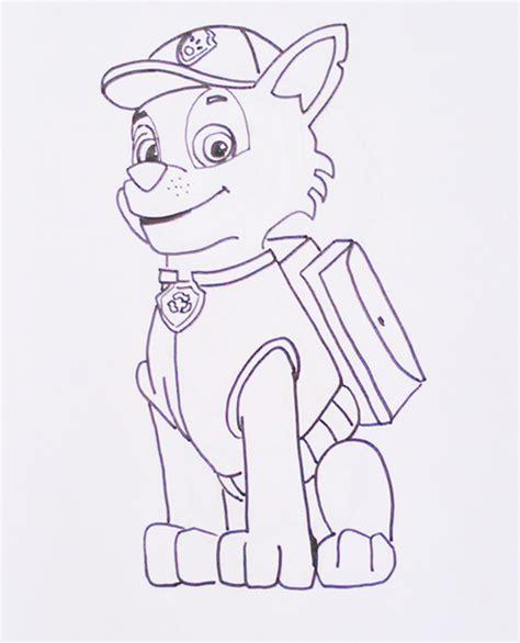 Dibujos Para Pintar Patrulla Canina Descargarimagenescom