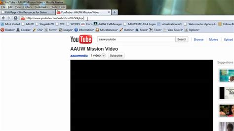 Embed YouTube video into a Wordpress page - YouTube