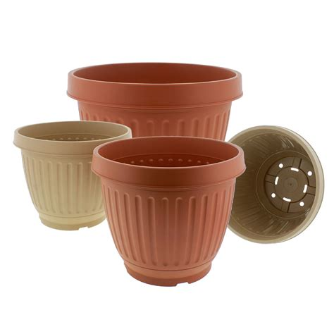 Extra Large Plastic Garden Pots - Modern Patio & Outdoor