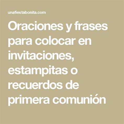 Frases Comunion Cortas Descargarimagenescom
