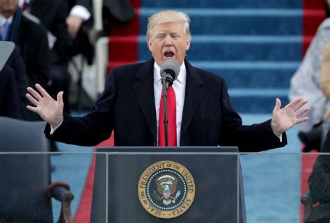 Full Text: President Donald J. Trump's inaugural address