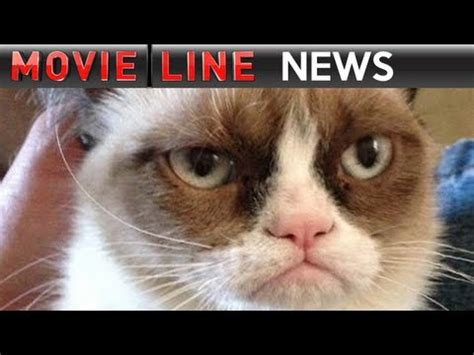 Grumpy Cat Movie First Look - YouTube