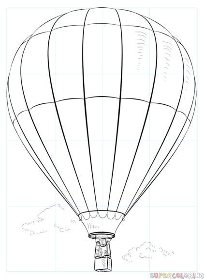 Dibujos De Globos Aerostaticos Descargarimagenescom