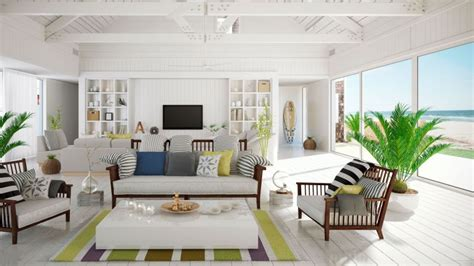 Ideas para decorar una casa en la playa - Hogarmania