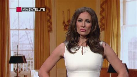 Laura Benanti's Melania Trump really doesn't want to move ...