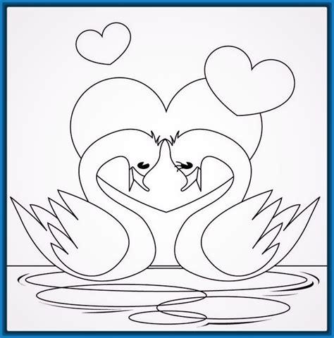 Dibujos Para Calcar De Amor Descargarimagenescom