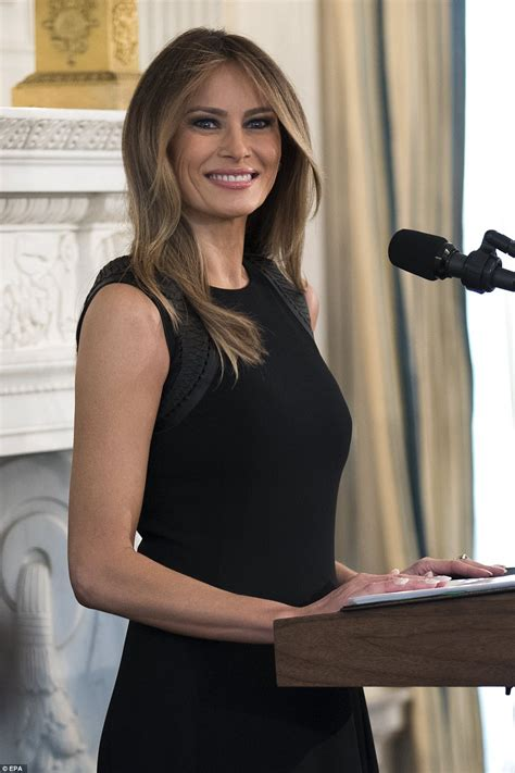 Melania Trump hosts an International Women's Day lunch ...