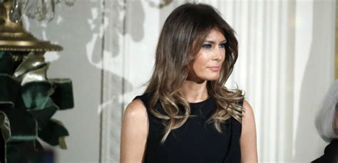 Melania Trump Posts 'First Snow Day 2017' Photo On ...