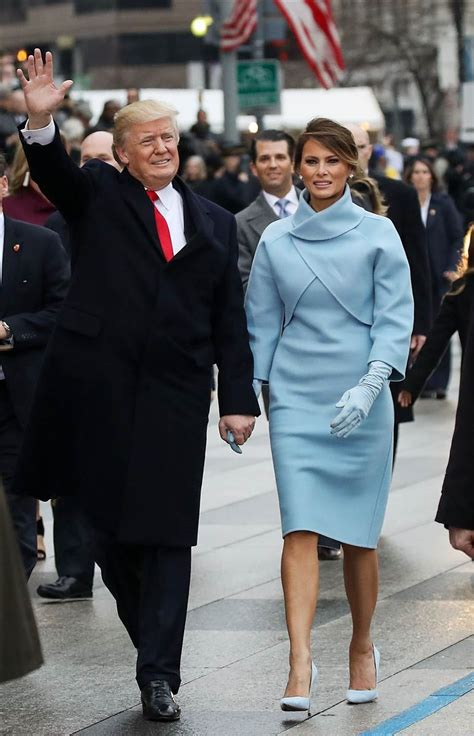 Melania Trump's fashion evolution: From model to first ...