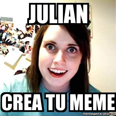 Meme Overly Attached Girlfriend - JULIAN CREA TU MEME ...