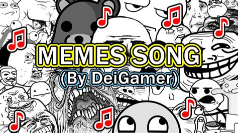 MEMES SONG | PIANO (By DeiGamer) - YouTube