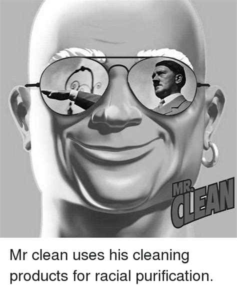 MR Mr Clean Uses His Cleaning Products for Racial ...