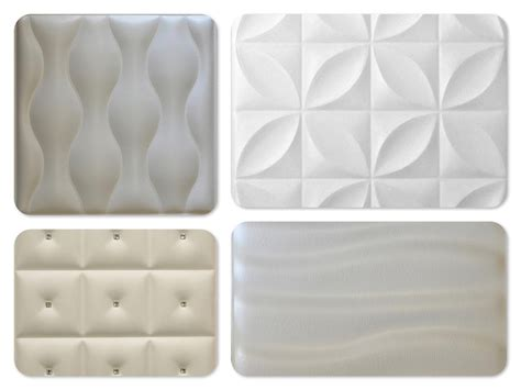 Shades of White Decorative Wall Panels - Decorative ...