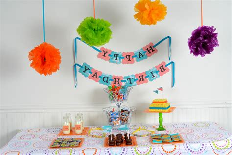 Simple Decoration Ideas For Birthday Party At Home ~ Image ...
