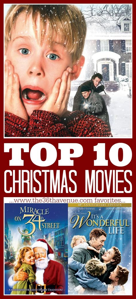 The 36th AVENUE | Top 10 Christmas Movies | The 36th AVENUE