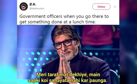 The Top 10 Funniest Amitabh Bachchan-KBC Memes On The ...