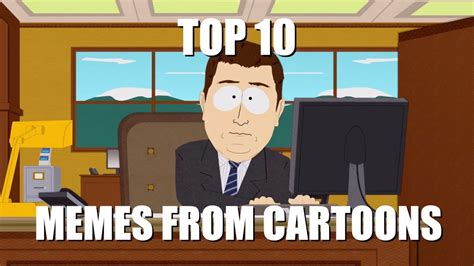 Top 10 Memes From Cartoons - YouTube