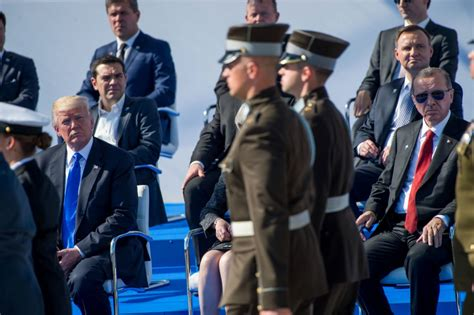 Trump national security team blindsided by NATO speech ...