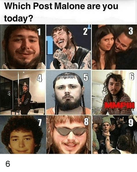 Which Post Malone Are You Today? MMPI 6 | Meme on me.me