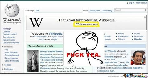 Wikipedia is not done yet by serkan - Meme Center